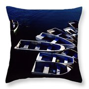 No Parking Rower Throw Pillow
