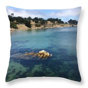 No Place Like Monterey Throw Pillow