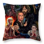 No Profanar Throw Pillow