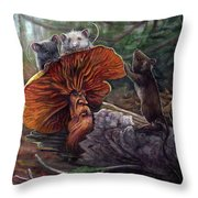 No Recourse Throw Pillow