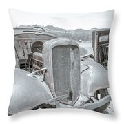 No Rust Here Throw Pillow