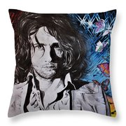 No Sugar Is Enough To Bring Sweetness To His Cup Throw Pillow