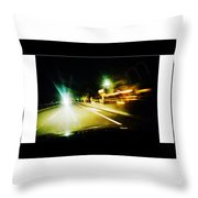 No Time Throw Pillow