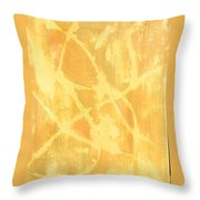 Wind And Sand Throw Pillow