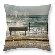 No View Today Throw Pillow