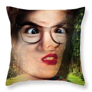 No Way Throw Pillow