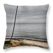 No Wind Today Throw Pillow
