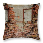 No Windows Throw Pillow