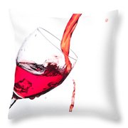 No Wine Was Harmed During The Making Of This Image Throw Pillow