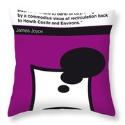 No007 My Finnegans Wake Book Icon Poster Throw Pillow