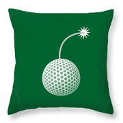 No013 My Caddy Shack Minimal Movie Poster Throw Pillow