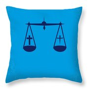 No014 My Cape Fear Minimal Movie Poster Throw Pillow