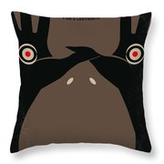 No061 My Pans Labyrinth Minimal Movie Poster Throw Pillow by Chungkong Art