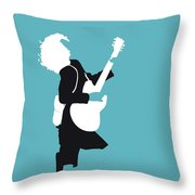 No065 My Acdc Minimal Music Poster Throw Pillow