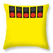 No075 My Senna Minimal Movie Poster Throw Pillow