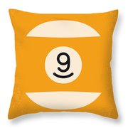 No089 My The Color Of Money Minimal Movie Poster Throw Pillow