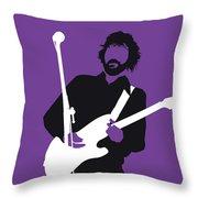 No141 My Eric Clapton Minimal Music Poster Throw Pillow