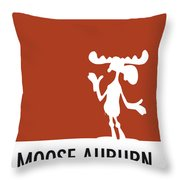 No19 My Minimal Color Code Poster Bullwinkle Throw Pillow