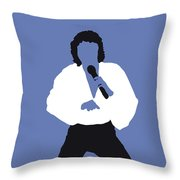 No198 My Barry Manilow Minimal Music Poster Throw Pillow