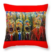 No.2 W1 Collection By Lincoln Townley Throw Pillow