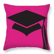 No301 My Legally Blonde Minimal Movie Poster Throw Pillow