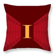No309 My The Breakfast Club Minimal Movie Poster Throw Pillow