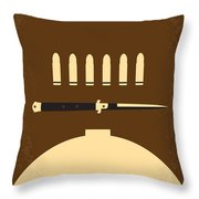 No318 My Rebel Without A Cause Minimal Movie Poster Throw Pillow