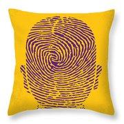 No439 My The Bourne Identity Minimal Movie Poster Throw Pillow