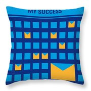 No464 My The Secret Succes Minimal Movie Poster Throw Pillow