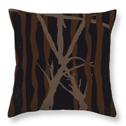 No476 My The Blair Witch Project Minimal Movie Poster Throw Pillow