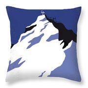 No492 My Everest Minimal Movie Poster Throw Pillow