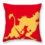 No512 My The Lion King Minimal Movie Poster Throw Pillow