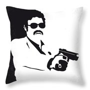 No526 My Medellin Minimal Movie Poster Throw Pillow