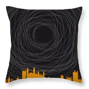 No568 My The Theory Of Everything Minimal Movie Poster Throw Pillow