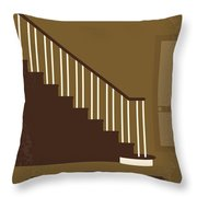 No615 My Risky Business Minimal Movie Poster Throw Pillow