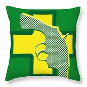No628 My Drugstore Cowboy Minimal Movie Poster Throw Pillow