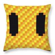 No703 My Pixels Minimal Movie Poster Throw Pillow