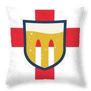 No741 My Grimsby Minimal Movie Poster Throw Pillow