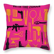 No743 My You Dont Mess With The Zohan Minimal Movie Poster Throw Pillow