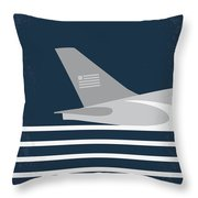 No754 My Sully Minimal Movie Poster Throw Pillow