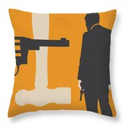 No854 My Payback Minimal Movie Poster Throw Pillow
