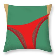 No884 My Easy A Minimal Movie Poster Throw Pillow
