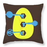 No929 My Ready Player One Minimal Movie Poster Throw Pillow