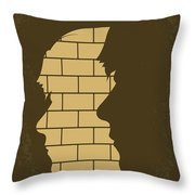 No936 My The Double Minimal Movie Poster Throw Pillow