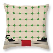 No941 My Last Tango In Paris Minimal Movie Poster Throw Pillow