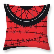 No958 My The Great Escape Minimal Movie Poster Throw Pillow