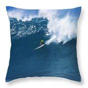 Noah At Waimea Throw Pillow by Vince Cavataio - Printscapes