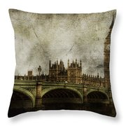 Noble Attributes Throw Pillow by Andrew Paranavitana