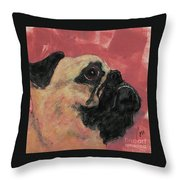 Noble Intentions Throw Pillow