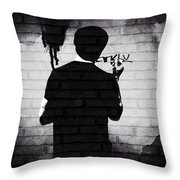 Nobody Ever Listened To Me Throw Pillow